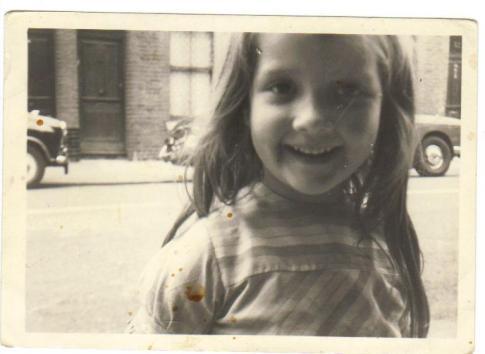 Jacqui Dillon aged five