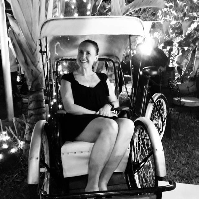 nostalgia ginjubilee2017 rickshaws frockingup birthdays phnompenh Cambodia southeastasia