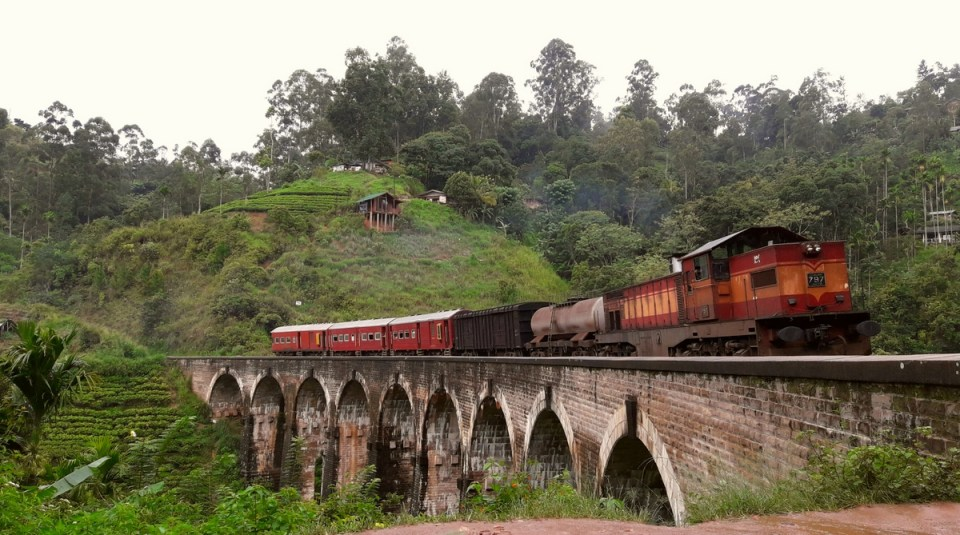 Nine Arches, Sri Lanka