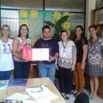 """Jacuizinho recebe certificado """"Mérito Comunitário"""""""
