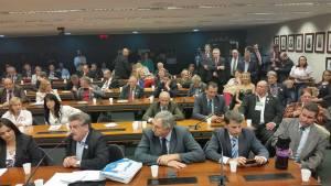 Prefeito e Primeira Dama em reunião entre Prefeitos e a Bancada Gaúcha