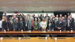 Prefeito em reunião entre Prefeitos e a Bancada Gaúcha na Câmara dos Deputados