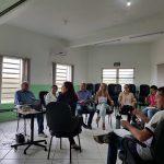 AÇÕES PELA SAÚDE: Profissionais realizam qualificação com Coordenadoria Regional de Saúde
