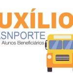 PROGRAMA DE TRANSPORTE ESCOLAR E AUXILIO FINANCEIRO: Estudantes deverão encaminhar os documentos até o dia 20 de agosto