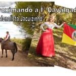 Iª Cavalgada da Mulher Tradicionalista Jacuizinho…. Esperamos vocês todas às 07h30 da manhã para o café Campeiro na praça central, neste sábado, dia 21 de setembro.