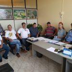 AÇÃO SOCIAL: Vice-prefeito e secretários recebem visita da diretoria da Fundação Edegar Pinto Goelzer