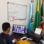 REUNIÃO: Secretário da Saúde, Sidnei da Silva, participa de reunião da Coordenadoria de Saúde.