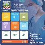 Boletim Epidemiológico Covid-19 (08/02/2021)