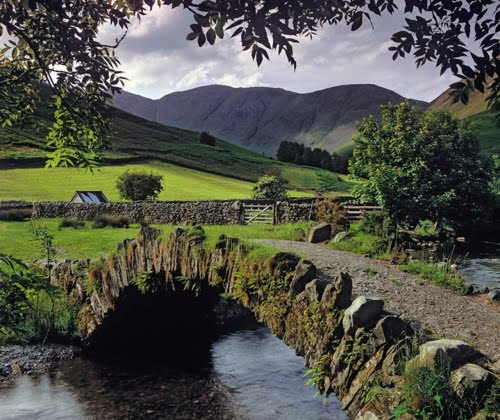 Stone Bridge, Lake District, England