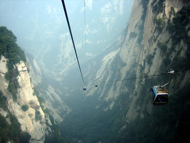 Tianmen Chan Cable Cars, China