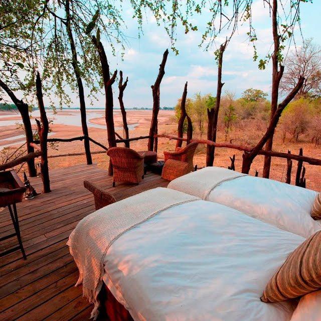 Kalamu Lagoon Camp, Zambia