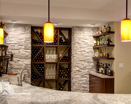 Basement Bar And Wine Rack (Denver)