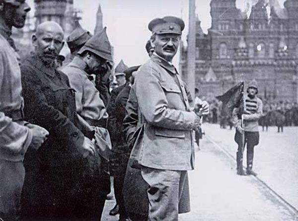 Trotsky a Mosca