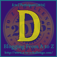A to Z Challenge:  D is for DANGER
