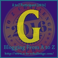 A to Z Challenge:  G is for GOING Somewhere