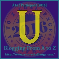 A to Z Challenge:  U is for UP