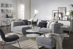 JadeCouleur gris salon