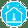 Icone isolation Thermique