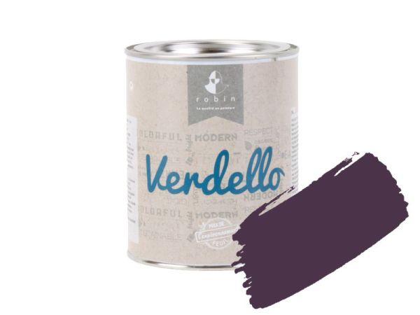 Peinture E207 Aubergine - 1 L Verdello