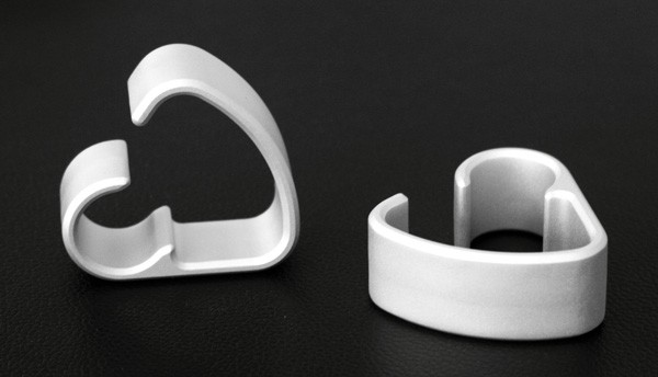 Anodized CNC parts
