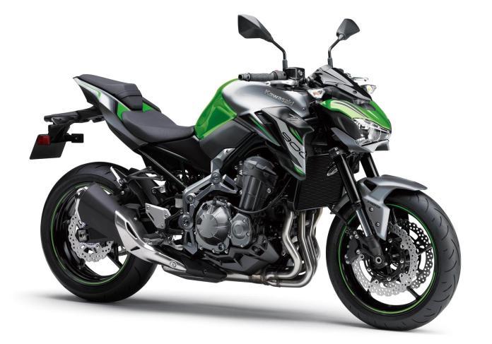 Kawasaki Z900 2019 verde