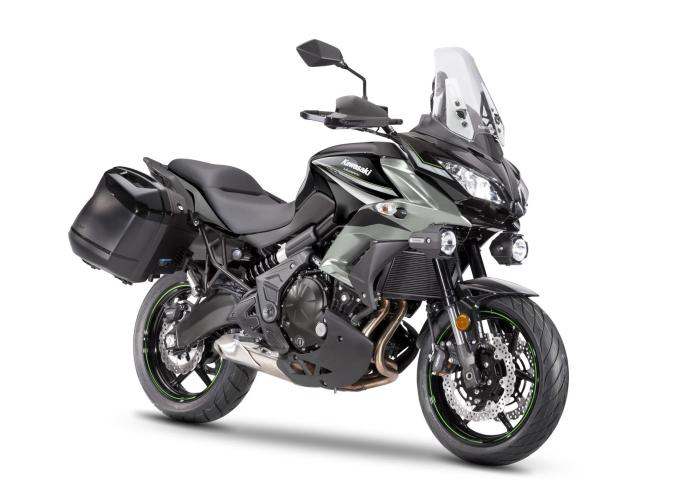 Versys 650 Tourer Plus Verde