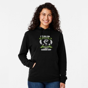 It's All Fun and Games Until Someone Loses A Common Carp | Hoodie