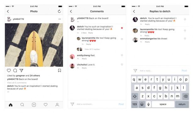 Instagram lança nova atualização que transforma Comentários em Tópicos Jade Seba