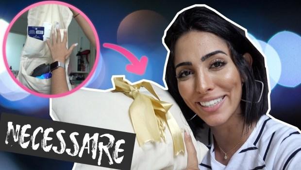 VLOG: O que eu levo na NECESSAIRE de Viagem | Jade Seba