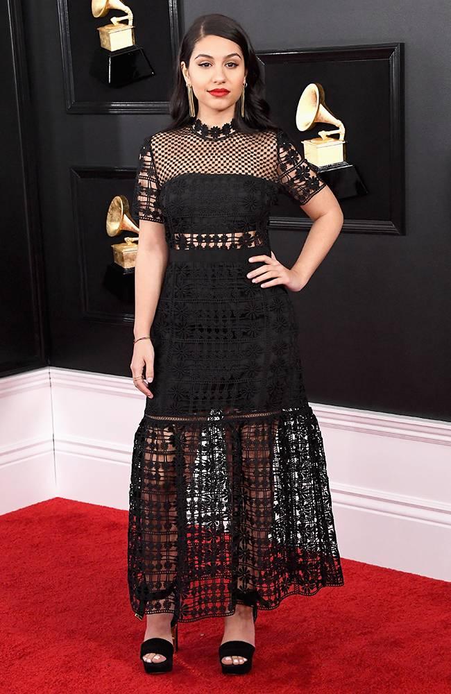 Grammy 2019: Meus looks favoritos dos famosos no tapete vermelho Alessia Cara