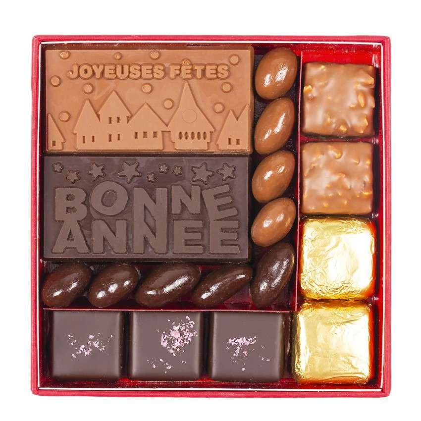 cadeaux fin d annee chocolat personnalisable