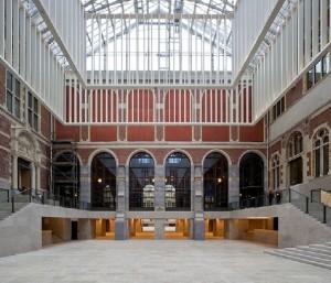 Remodelación interior en Rijksmuseum. Amsterdam