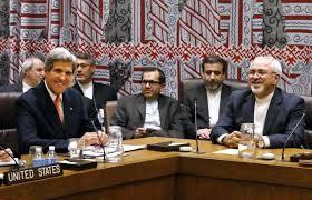 Kerry con el iraní Zarif