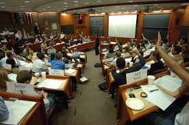 Aula de Harvard Bussiness School