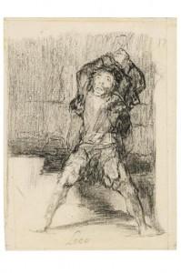 """""""Loco (Calabozo"""" de Goya"""