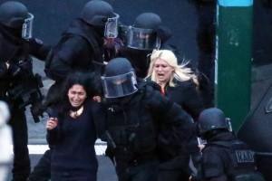 Liberación de rehenes en París