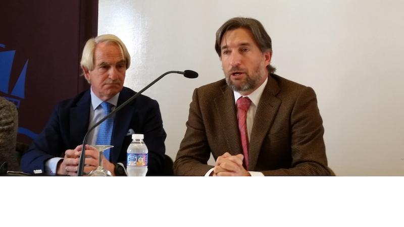 Con Miguel Aranguren en Colegio Entreolivos