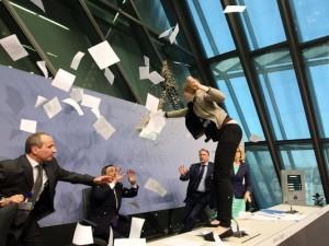 Papeles sobre Mario Draghi