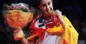 Deportes en TV. Carolina Marín, campeona del Mundo de Badminton