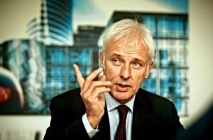 Matthias Müller, nuevo presidente de Volkswgena