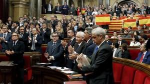 Parlamento de Cataluña, 09/11/2015