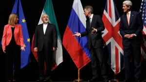 Negociadores del acuerdo de Viena