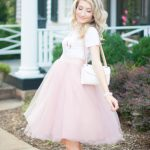 Pretty As A Princess In Tulle With Baby Bump