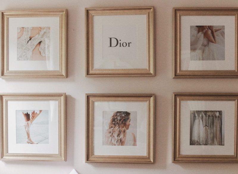 A glamorous Inspo Wall with Framebridge
