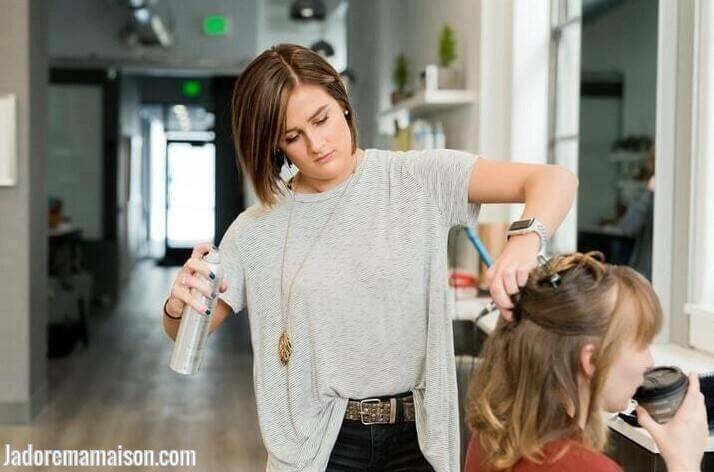 tête à coiffer professionnelle 100% naturel