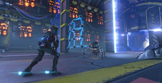 Joule fighting lattice bots