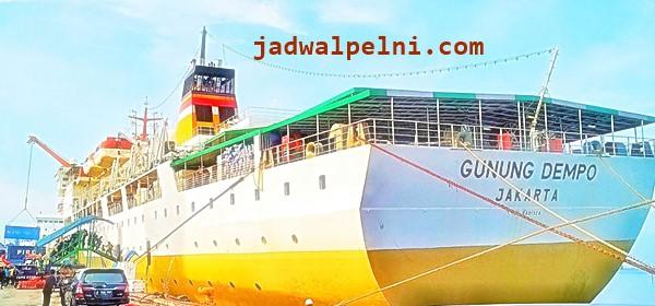 Jadwal Kapal Pelni Gunung Dempo Mei 2019