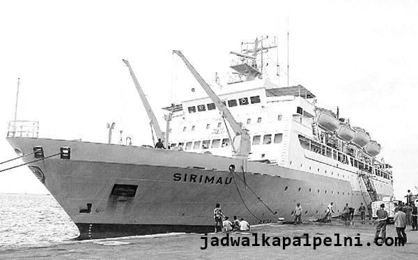 jadwal kapal pelni sirimau