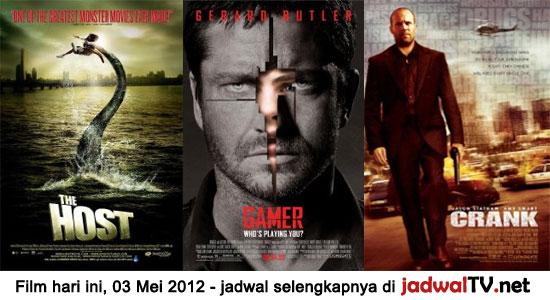 Jadwal Film dan Sepakbola 03 Mei 2012