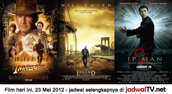 Jadwal Film dan Sepakbola 23 Mei 2012